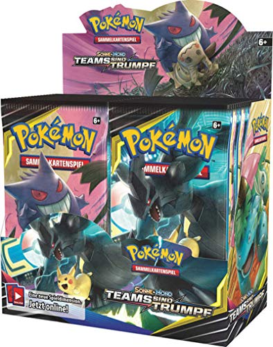 Pokemon Sonne & Mond Serie 9 - Teams sind Trumpf - 1 Display (36 Booster) - Deutsch