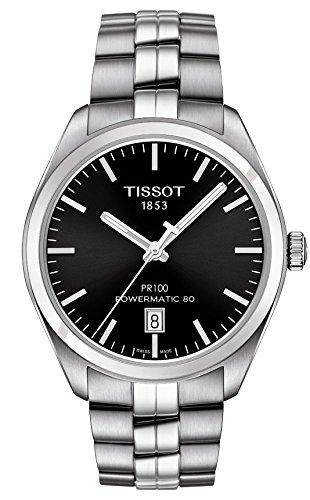 Mens Tissot PR100 Powematic 80 Automatic Watch T1014071105100