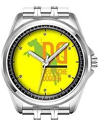Reloj de Pulsera Personalizado para Hombre, a la Moda, Resistente al Agua, con
