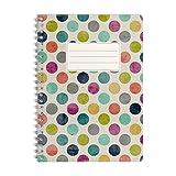 WIREBOOKS Notizbuch | Notizblock | Notizheft | Spiralblock 5053 DIN A5 120 Seiten 100g Papier kariert