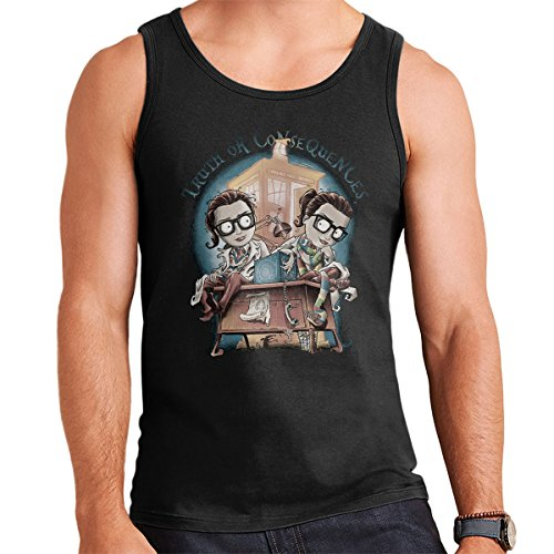 Doctor Who Truth Or Consequences Men's Vest