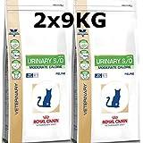 Royal Canin Urinary S/O Moderate Calorie Katze Trockenfutter 2 x 9kg =18kg