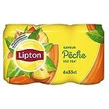 Lipton Ice Tea Saveur Pêche 6 x 33 cl