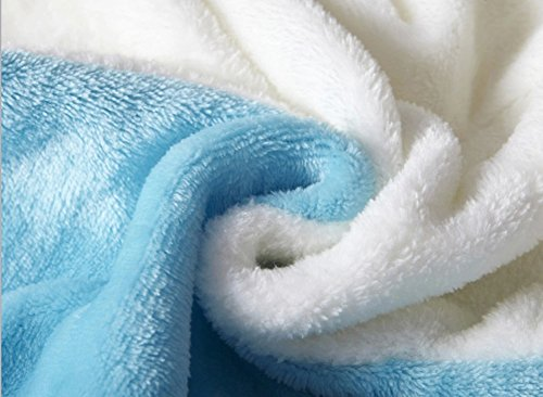 Faschingumzug Kostüm Jumpsuit Karneval Feiern-Kostüm Sleepsuit-LATH.PIN Cosplay Fleece-Overall Pyjama Schlafanzug Erwachsene Unisex Lounge Nachtwäsche Feiern Streetwear S/M/L/XL blau Einhorn