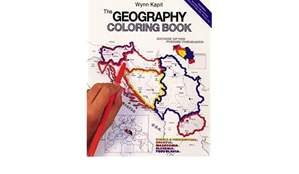Buy The Geography Coloring Book Book Online at Low Prices in India ...