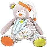 Baby Nat 'Range pyjama Oscar Pooh grau