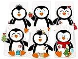 KuschelICH Adventskalender zum Befüllen Pinguin - mit Stickern zum Gestalten und selber Basteln - Neuheit 2018 (Pinguin)