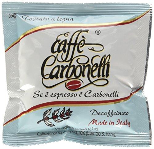 Caffè Carbonelli 50 Cialde Ese, Miscela Decaffeinato - 1 (1 Tazza Di Caffè In Cialde)