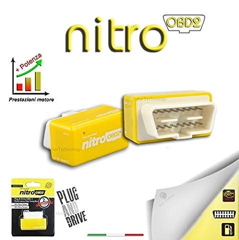 Additional Module Universal Car Nitro Petrol OBD2CENTRALINA Chip Tuning