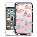 Head Case Designs Flamingo Pink Summer Ruckseite Hülle für Apple iPod Touch 4G 4th Gen