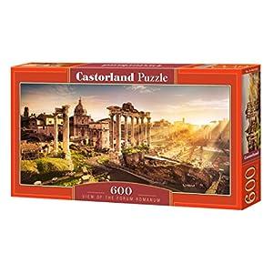 CASTORLAND View of The Forum Romanum 600 pcs Puzzle - Rompecabezas (Puzzle Rompecabezas, Paisaje, Niños y Adultos, Niño/niña, 9 año(s), Interior)