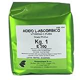 ACIDO ASCORBICO KG.1 PURO E300 - NO OGM - VITAMINA C - GLUTINE FREE