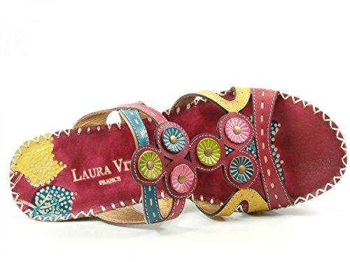 Laura Vita CX077-6 Vana Zoccoli donna Rot