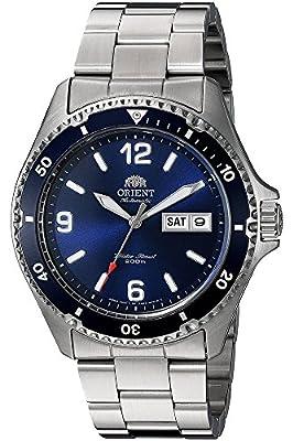 Orient Reloj Analógico para Unisex Adultos de Automático con Correa en Acero Inoxidable FAA02002D3