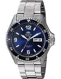 Orient Reloj Analogico para Mujer de Automático con Correa en Acero Inoxidable FAA02002D9
