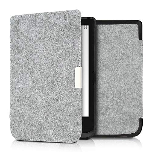 kwmobile Pocketbook Touch Lux 4/Basic Lux 2/Touch HD 3 Hülle - Filz Stoff eReader Schutzhülle Cover Case für Pocketbook Touch Lux 4/Basic Lux 2/Touch HD 3