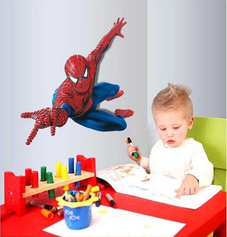 gallery-canvas-art-diy-home-decor-art-removable-wall-decal-kids-room-nursery-spider-man-wall-sticker