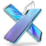 "ORNARTO Coque Huawei P30 Lite, Ultra Mince Premium TPU Silicone Transparent Flexible Anti-Trace Souple Coque Housse Compatible avec Huawei P30 Lite(2019) 6,15""- [Crystal Clear]"