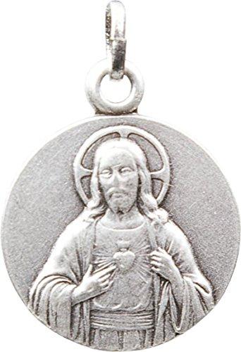 Medaille jesus christ argentee