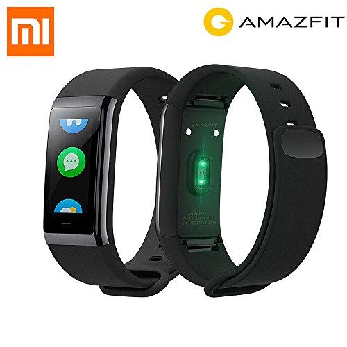 Amazfit huami Cor a1702Inteligente Fitness Tracker, frecuencia cardíaca, 1.23Pulgadas Pantalla, IP 68, Negro