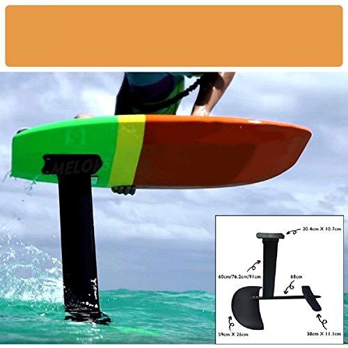 VIO Hydrofoil Upgrade Juego de fibra de carbono de aleación de aluminio Surfboard,color,Un tamaño