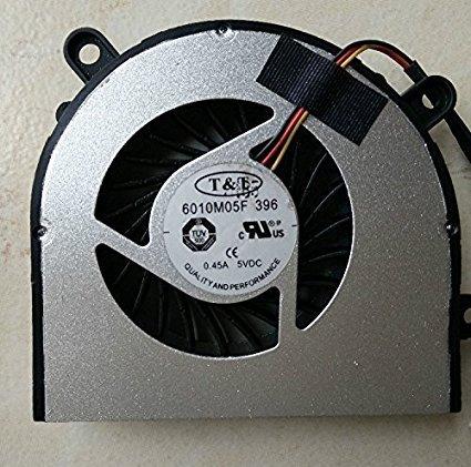 SZYJT Nuevo ventilador original del cpu del ordenador portátil para MSI CR61 MS16GB - ventilador 6010M05F como foto