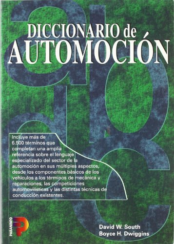 Diccionario De Automocion por David W. South