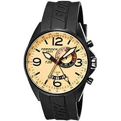 Torgoen Herren-Armbanduhr Analog Leder T30302