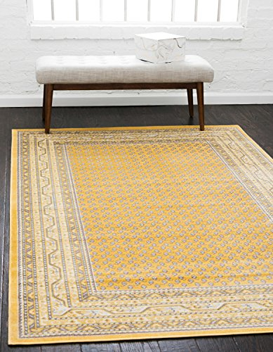 Massiv Tribeca Bereich Teppich, gelb, 8 x 10