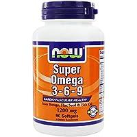 NOW FOODS - Super Omega 3-6-9 1200mg - 90