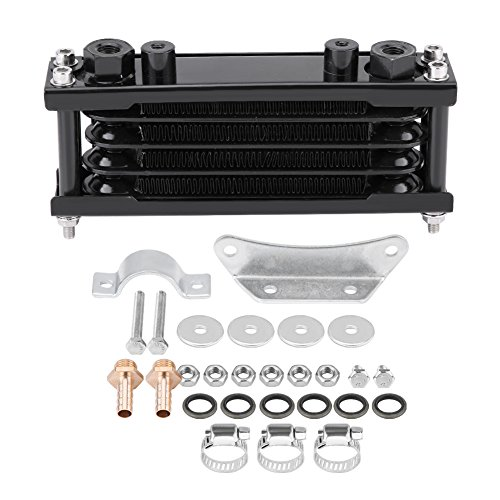 Universal Engine Oil Cooler kit motociclo radiatore di raffreddamento olio per moto Dirt bike 50 cc-200