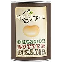 Mr Organic 400g De Judías Blancas (Paquete de 6)
