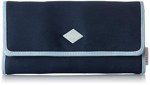 Oilily Damen Groovy Purse Lh12f Geldbörse, Blau (Dark Blue) 1x10x18 cm