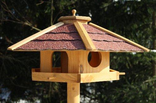 Vogelhaus PIEPMATZ + Ständer Futterhaus