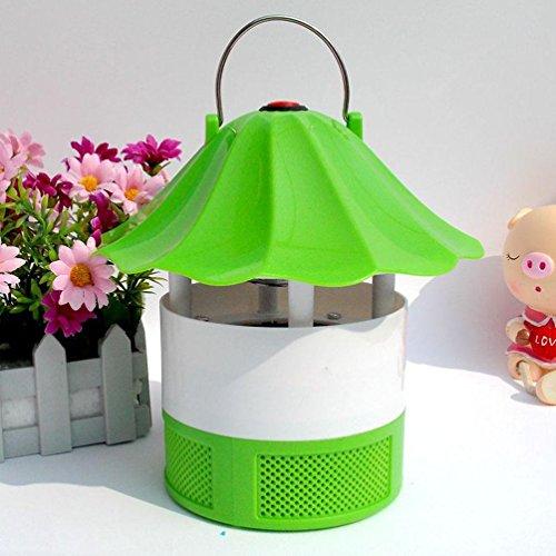 LY YL Lampe Anti-Moustique Anti-Moustique par Inhalation, Green,Green