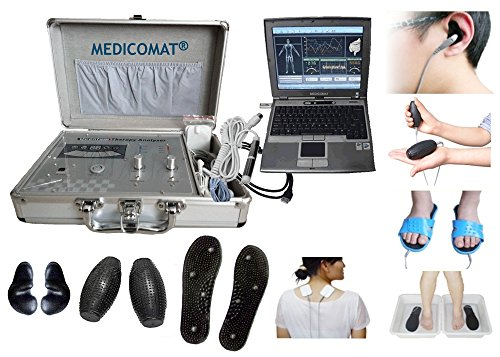 QUANTUM Health Analysegerät Therapie Computer System medicomat-29 Alternative Health Test COMPUTER Gadgets - Allergie Sinus Medizin
