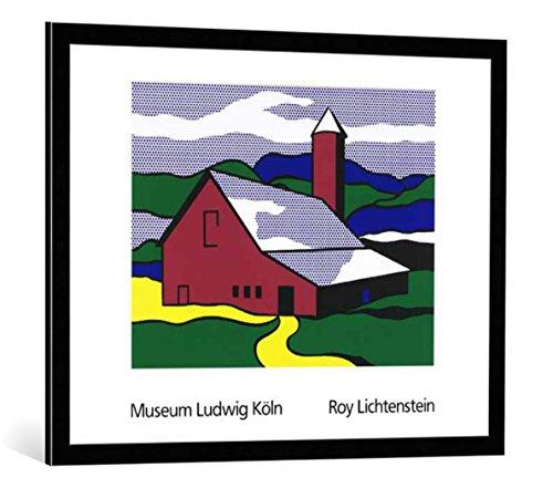 Bild mit Bilder-Rahmen: Roy Lichtenstein