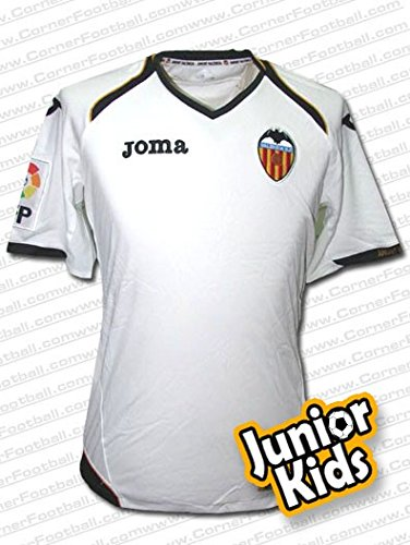 Joma - Valencia 1ª Camiseta Junior 11/12 Hombre Color: Blanco Talla: 10