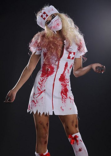ie Krankenschwester Kostüm Small (UK 8-10) ()