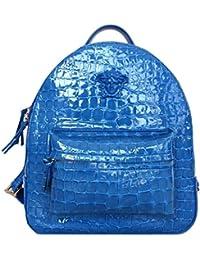 Versace - Bolso mochila  para mujer Azul BLU TURCHESE MEDIO