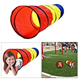 Dazzling Toys 6-feet Play Tunnel Toy Ten...