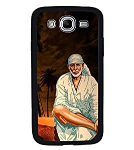 Fuson Premium 2D Back Case Cover Lord Sai baba With White Background Degined For Samsung Galaxy Mega 5.8 i9150::Samsung Galaxy Mega 5.8 i9152