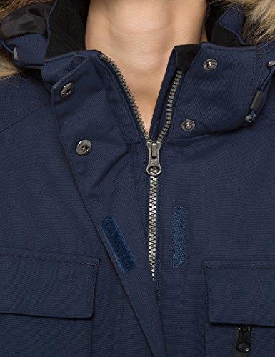 Berydale Parka à capuche, imperméable et coupe-vent pour femme Bleu