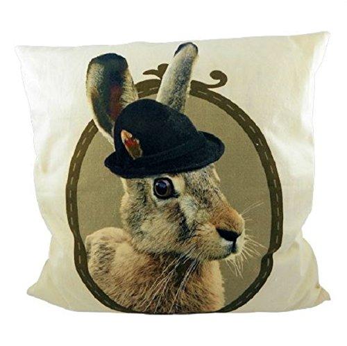 cushion canvas alm hare
