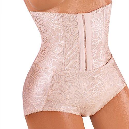 Mieder Slip mit Gürtel und Hakenverschluß Taillenmieder Für Damen nach der Schwangerschaft und Geburt,