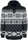 Brandit Winter Jacquard Pullover Strickpullover anthrazit/schwarz M