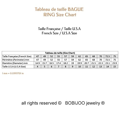 BOBIJOO Jewelry - Alliance Bague Anneau Doré à l'Or Fin Acier Inoxydable Mariage Fiançaille Couple Au choix - 56 (7 US), Homme Homme