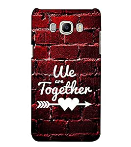 Fuson Designer Back Case Cover for Samsung Galaxy J7 Prime (2016) (We are together theme)