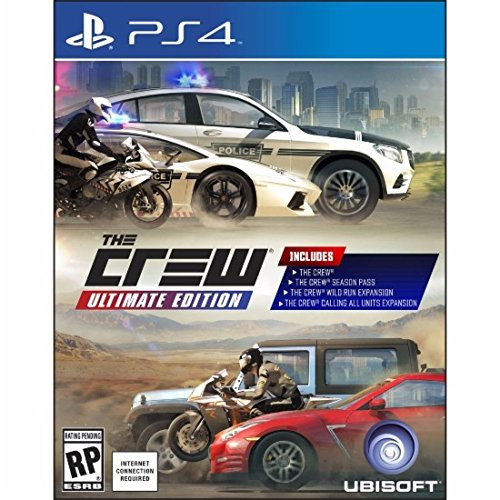 The Crew Ultimate Edition PlayStation 4