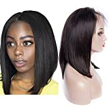 Maxine Straight Bob Wig Human Hair Wigs for Women Black Fashion Real Human Wig with Adjustable Straps Wigs 10 inch